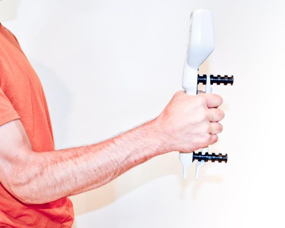 Hand Dynamometer Test : Physical therapy hands and on pinterest