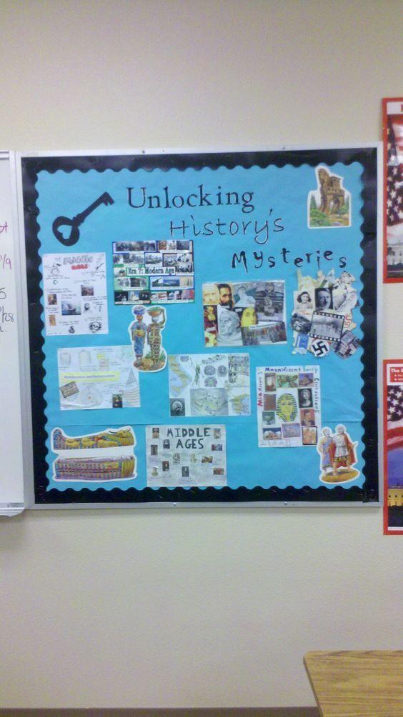 World History bulletin board   School ideas   Pinterest   World ...