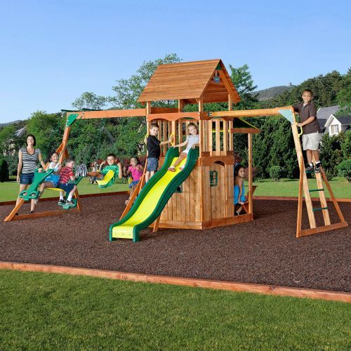 backyard discovery saratoga play set dream house pinterest