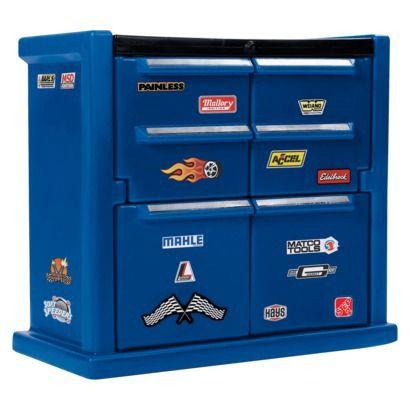 Tool Chest Dresser-so cute!  For Cooper's birthday?