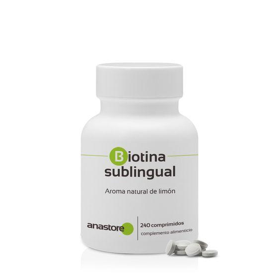 biotina sublingual