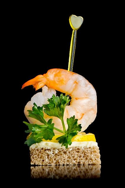 Wedding facebook and summer on pinterest for Shrimp canape ideas