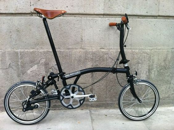 Brompton fold up bike - great for getting around town