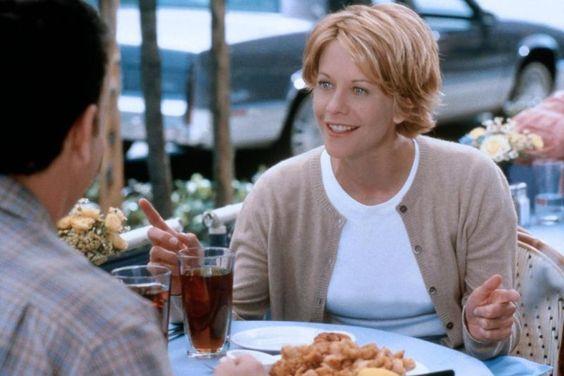 Kathleen (Meg Ryan) ~ You've Got Mail (1998) ~ Movie Photos #amusementphile