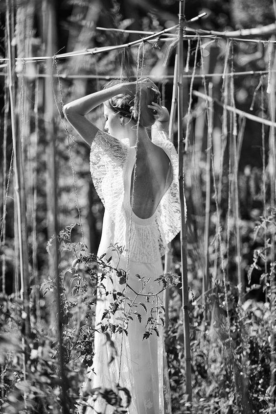 Delphine Manivet - Créatrice de robes de mariée Paris : Collection P/E 2016 - Robes de mariée + stunning dresses+ selection  ma colline + Wedding Planner + www.ma-colline.com