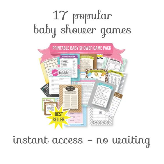 pass the prize baby shower game green gift print it baby