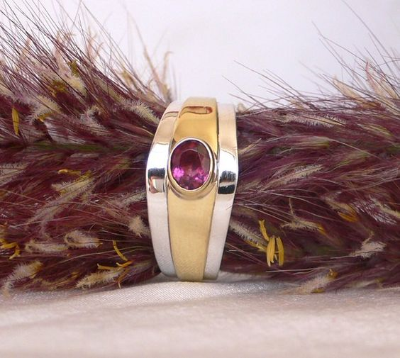 valentine silver ring