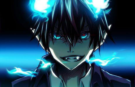 image manga : blue exorcist