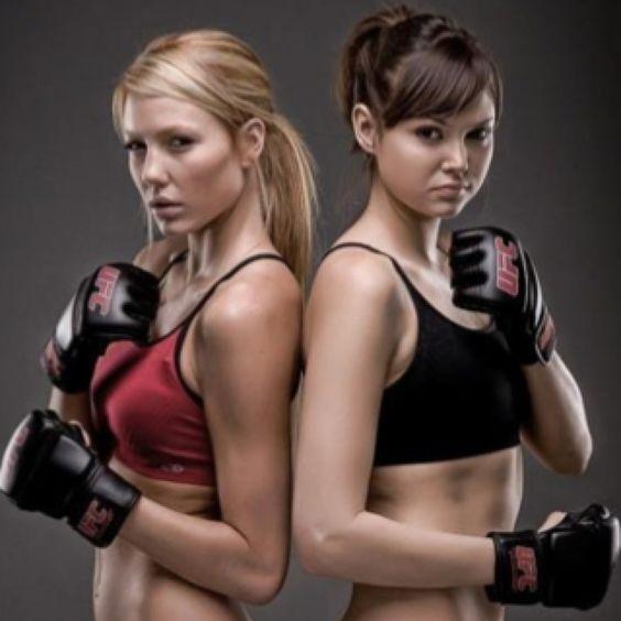 UFC Octagon Girls Rachel Leah And Brittney Palmer. That's