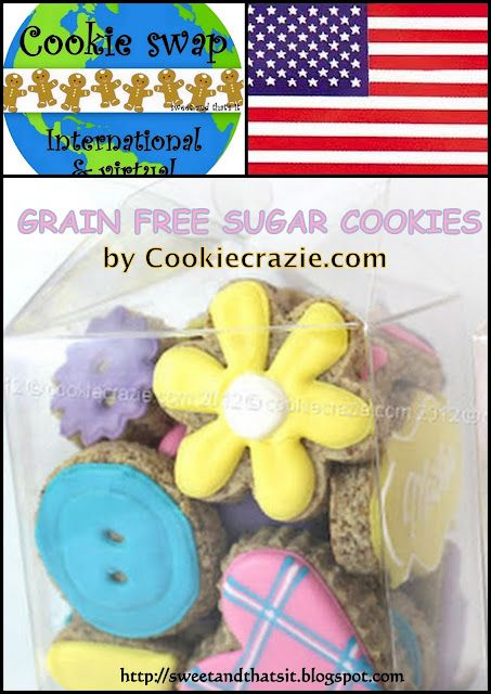 Sweet and That's it: GRAIN FREE SUGAR COOKIE - BISCOTTI SENZA CEREALI