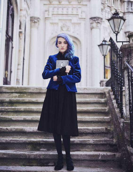 Evelyn M. - Miss Peregrine