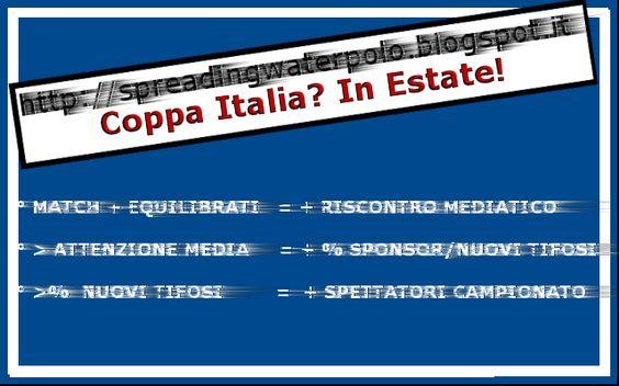 Coppa Italia: considerazioni a quattro mani ~ Spreading Waterpolo