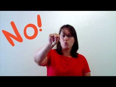 """Saying """"Quiet!"""" without Yelling """"QUIET!""""  Easy sign language to use instead of yelling."""