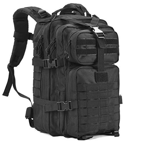 Jueachy Military Tactical Backpack Molle Waterproof Multifunctional Army Assult Rucksack for Mens /& Womens for Trekking Hiking Travel Camping Mountaineering School 30L Large Capacity Backpack