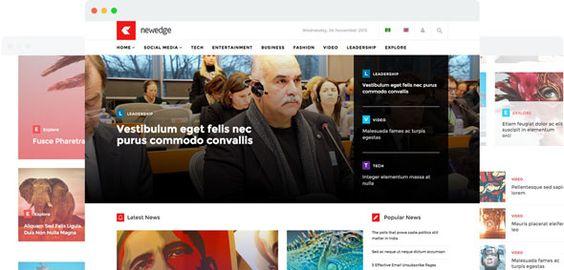 NewEdge v1.4  Joomshaper Responsive Joomla Magazine