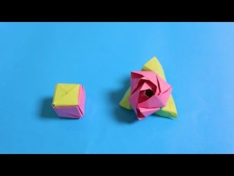 old] Origami Instructions: 6-pointed Star Box (Robin Glynn) - YouTube | 360x480