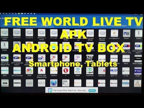 Free World Live Tv Apk P2p Tv Android Tv Box Smartphone Tablets Working Live Tv Android Tv Android Tv Box