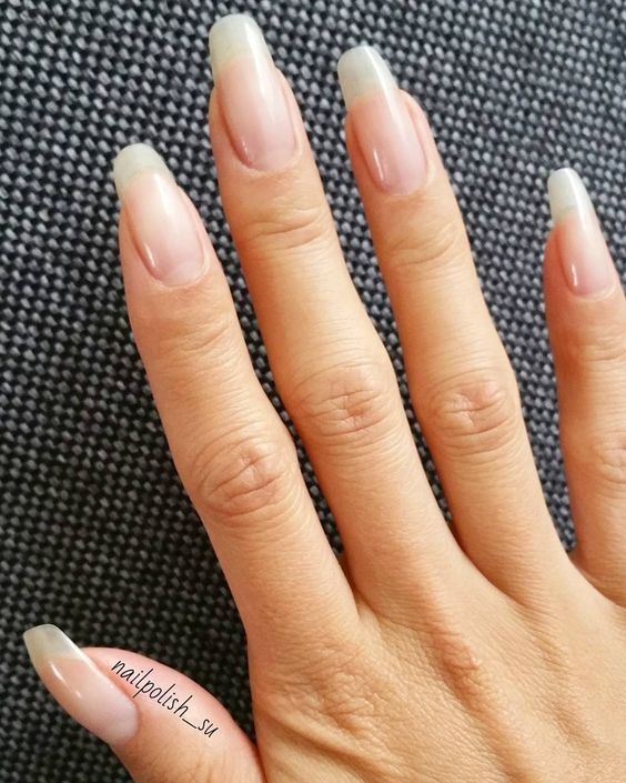 Reparieren Sie Ihre Nagel Nach Acryl Nagel Design In 2020 Nails After Acrylics Natural Nails Strong Nails