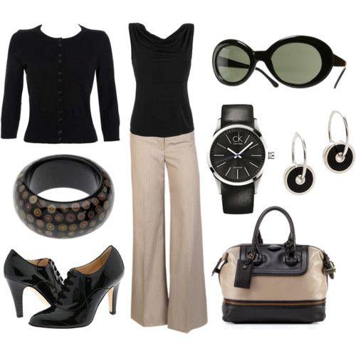 Work attire.