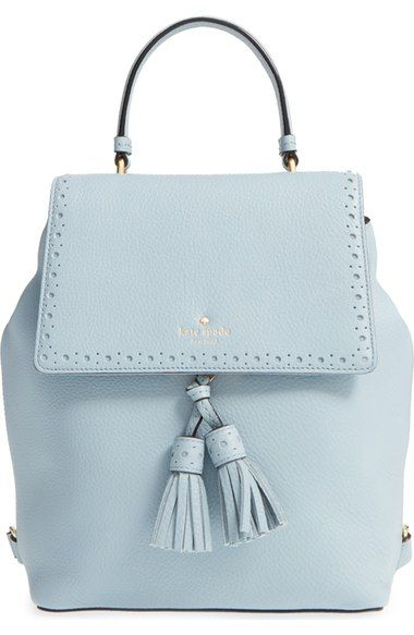kate spade new york 'james street - teba' leather backpack available at…