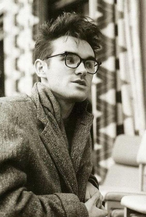 young Mr Stephen Morrissey of The Smiths