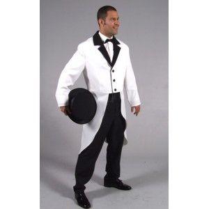 d guisement queue de pie blanche homme luxe pinterest cabaret d guisements et tartes. Black Bedroom Furniture Sets. Home Design Ideas