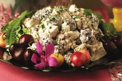 Bing Cherry Chicken Salad with Toasted Pecans Recipe