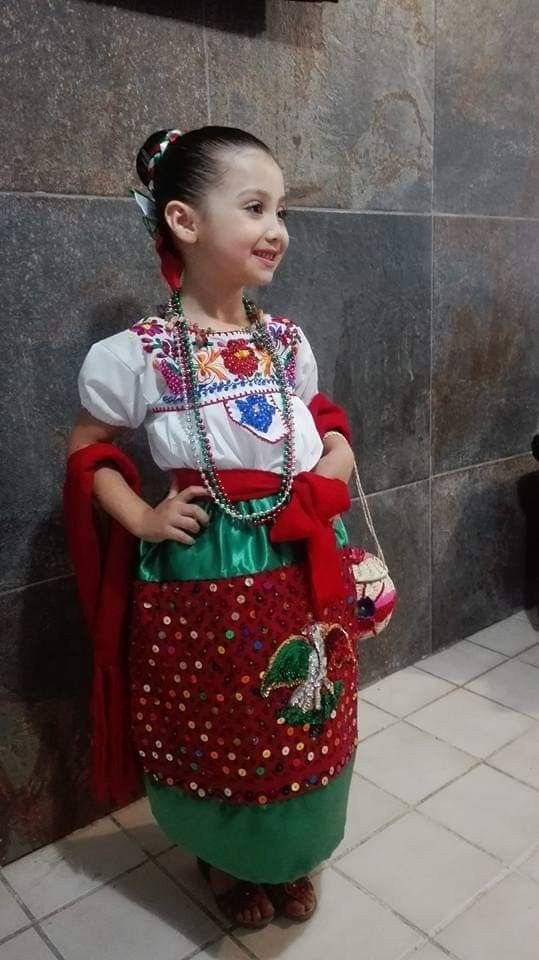 Traje Típico De China Poblana Vestuario Mexicano Vestidos