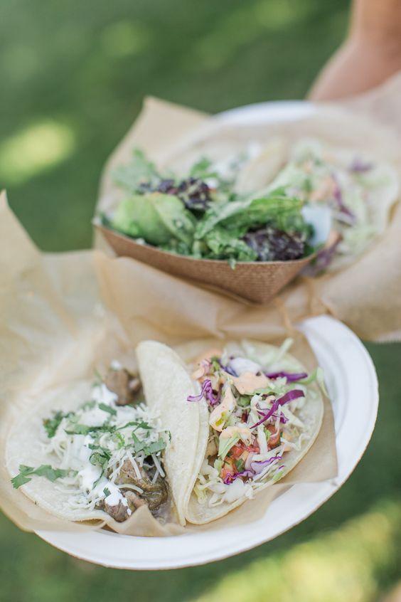 #tacos  Photography: Carlie Statsky - www.carliestatsky.com  Read More: http://www.stylemepretty.com/living/2014/09/19/40th-birthday-fiesta/