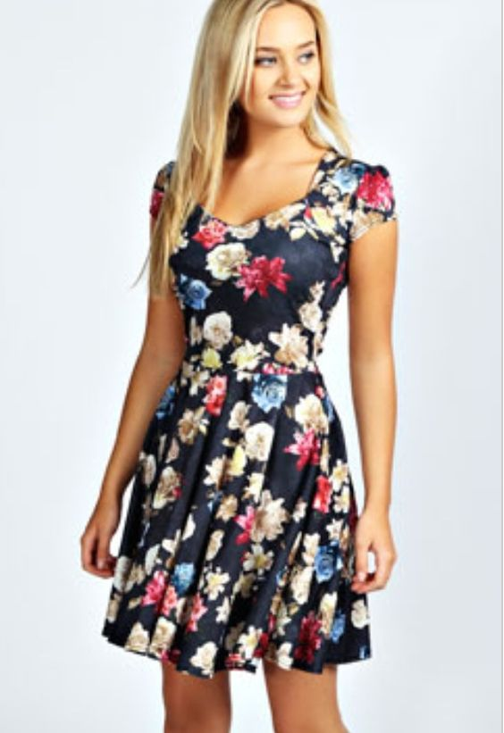 Perfect summer skater dress