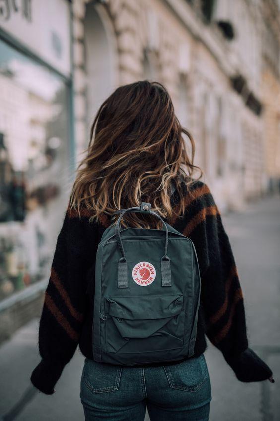 Rucksack-Damen-Herren-Fjällräven-Mädchen-blau-Stadt-Cityrucksack-nachhaltig
