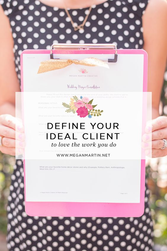 Defining Your Ideal Client with Megan Martin Creative
