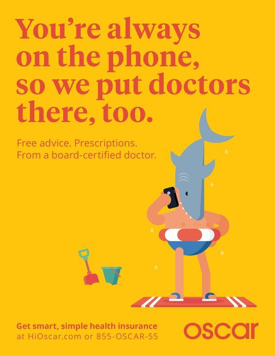 Die Agentur Mother erdachte diese ungewöhnliche Kampagne für eine Krankenversicherung, der britische Illustrator Robin Davey steuerte die Bilder bei