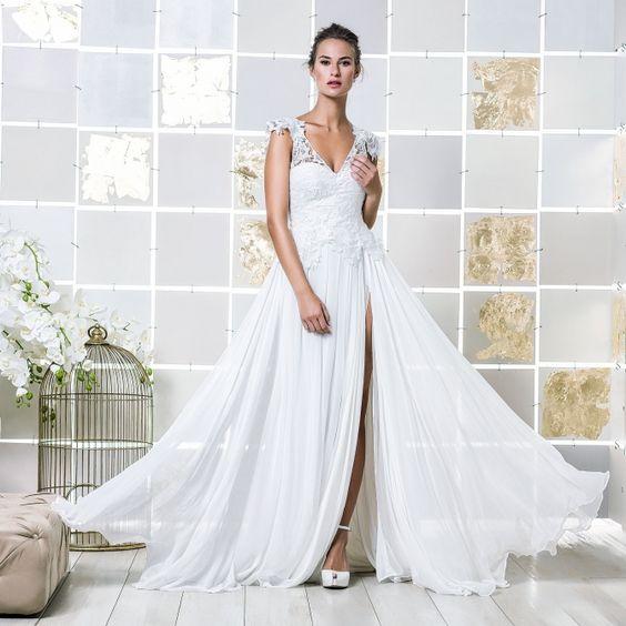 Gio Rodrigues Paloma Wedding Dress  gracious wedding dress crepe lace sweetheart engaged inspiration unique gorgeous elegant bride