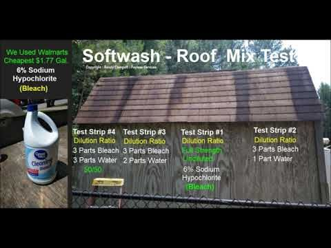 No Pressure Roof Cleaning Chemicals Roof Cleaning Cleaning Chemicals Cleaning Gutters