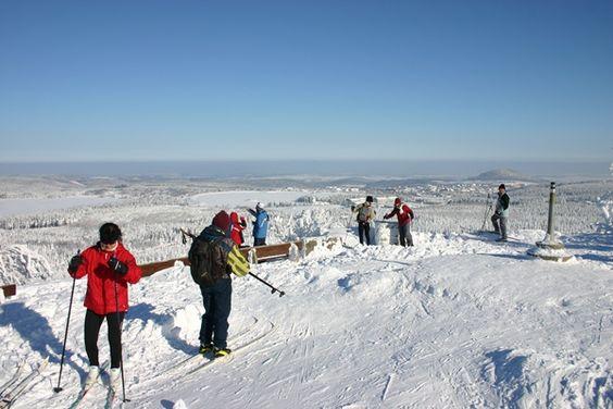 Skilanglauf in der WM-Stadt Altenberg
