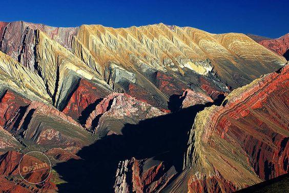 Cerro de los siete colores, Jujuy
