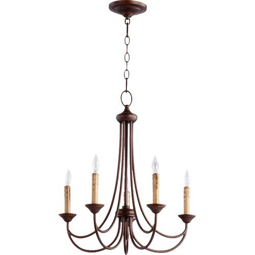 White - Found it at Wayfair - Brooks 5 Light Candle Chandelier