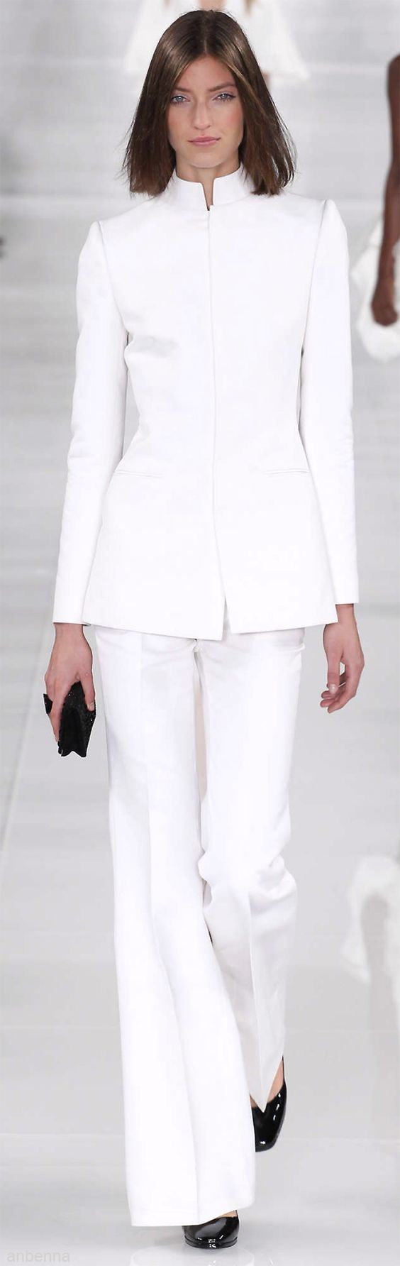 Ralph Lauren - this is a great outfit for my work! Strength and elegance