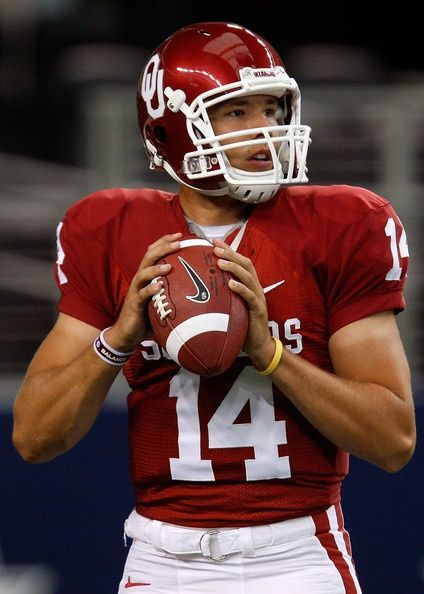 Sam Bradford, QB for the Oklahoma Sooners and the Saint Louis Rams, 2008 Heisman Trophy winner, is a citizen of the Cherokee Nation and listed on the Tribes rolls.