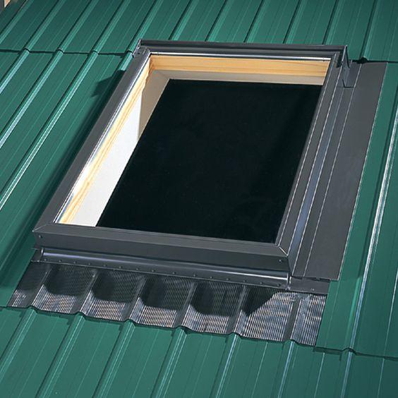 Velux Deck Mount Metal Roof Aluminum Flashing Kit For