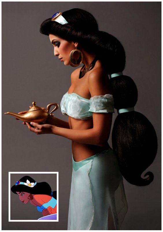 JASMINE - O fotógrafo Ryan Astemendi tornou fez um ensaio fotográfico que trouxe algumas princesas da Disney para a vida real, em todos os mínimos detalhes!
