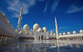 Wallpaper Masjid Portrait Pemandangan Tempat