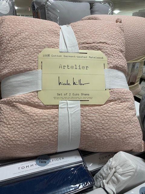 Nicole Miller Artelier Bedding, Nicole Miller Artelier Bedding Blue