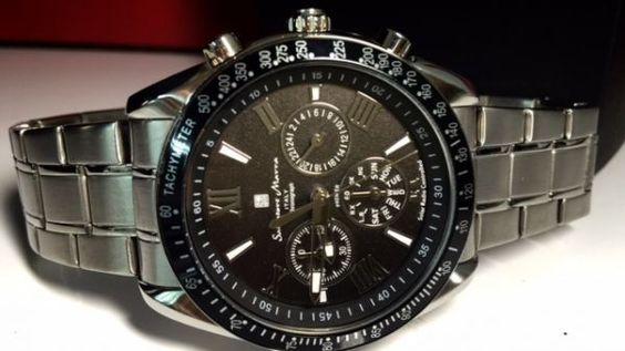新品 サルバトーレマーラ 正規品 クロノグラフ 電波腕時計(1) https://t.co/cSGrdjWJHj https://t.co/6cPCq6PsqD