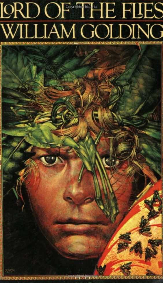 the role of darkness in lord of the flies a novel by william golding