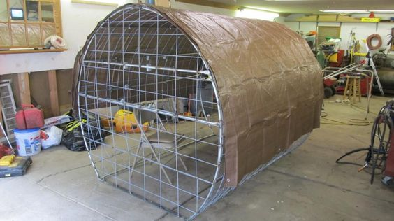 Homemade Bow Blinds Diy Elevated Hunting Blinds The