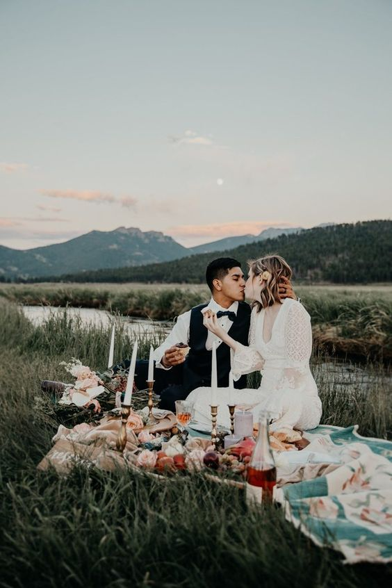 Check out our guide to shooting in a National Park on the blog | Image by Wolf & Rose Photography
