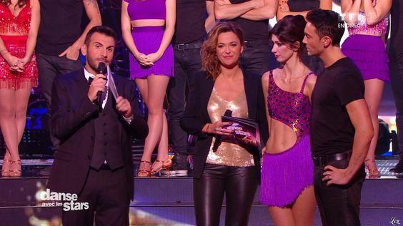 Sandrine Quétier dans Danse avec les Stars (cuir, Sandrine Quetier).