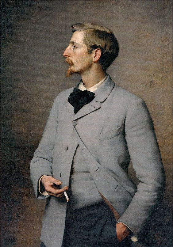 """Paul Wayland Bartlett"" → Charles Sprague Pearce - 1851/1914 - Pintor Americano."